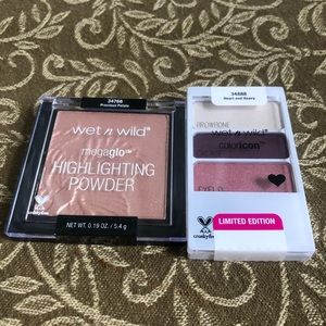 WET N WILD Eye & Face BUNDLE